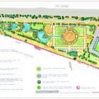 0-plano General de planta del proyecto de paisajismo- superficie 15 Hectáreas