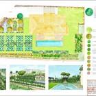 0- plano general de planta de Casa La Solera