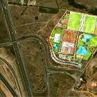 1-inserción en el terreno masterplan bouskoura Sports City-Casablanca-Marruecos