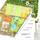 1-masterplan de planta BOUSKURA SPORT CITY-Casablanca-Marruecos
