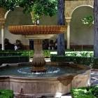 14-fuente del patio de lindaraja de estilo barroco