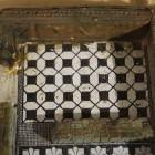 17- detalle de mosaicos en habitación de la villa romana de rio verde de Marbella
