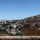 2-el albaicin visto desde las murallas de la Alhambra