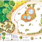 2- plano general de planta del jardín japonés del Lotto- LA CONCEPCION