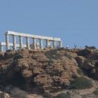 2-templo de Neptuno junto a un acantilado en Grecia