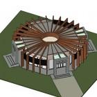 27-edificio de la geometría sagrada