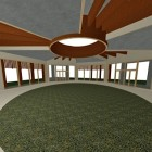29-interior del edificio de la geometría sagrada