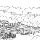 3-Jardin japonés- vista desde cafeteria BYN