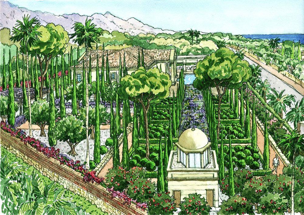 Spa la orqu dea tanger paisajistas marbella for Jardineria y paisajismo fotos