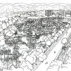 4-perspectiva general del parque en blanco y negro
