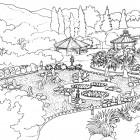 5-Jardin japonés- vista desde sendero BYN