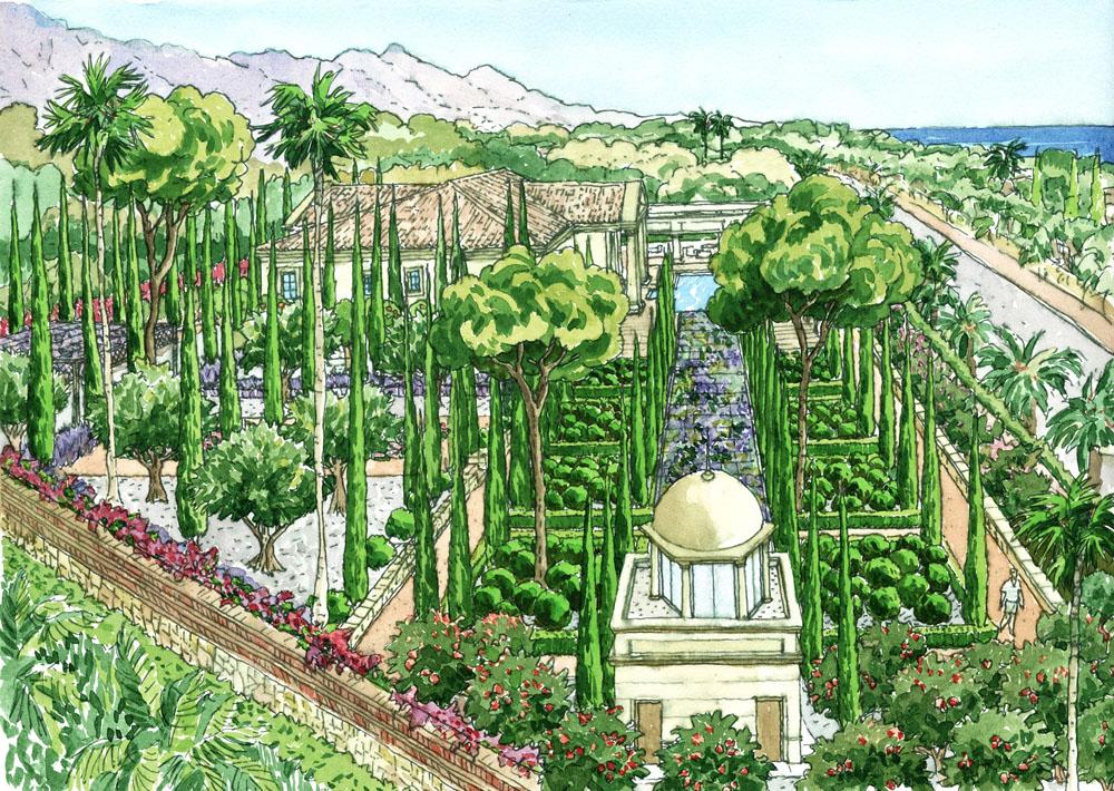 Proyecto de paisajismo y jardiner a en la casa la solera for Jardineria paisajista