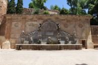 5- fuente de Carlos V de estilo renacentista