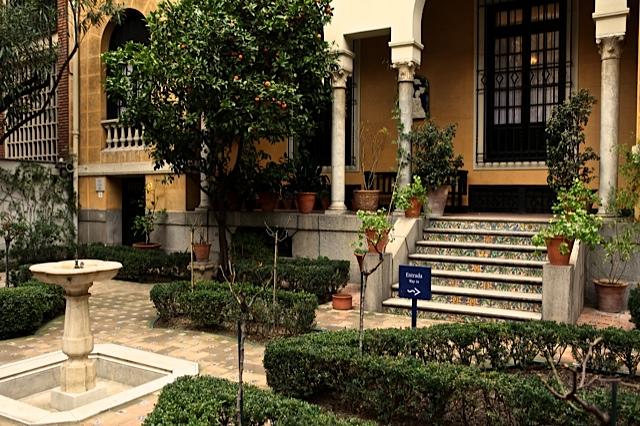 5 porche y jardin en la casa del pintor joaquin sorolla - El jardin en casa ...