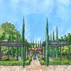 6-Perspectiva jardin de la alberca color
