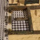 7- las habitaciones que daban al peristilo directamente estaban pavimentadas tambien con mosaicos