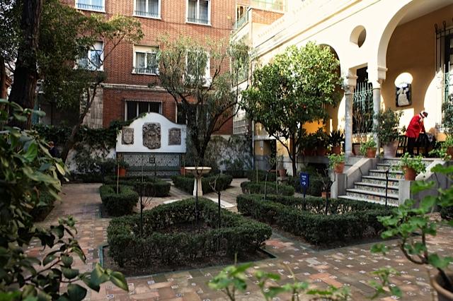 9 jardin de entrada a la casa del pintor joaquin sorolla for Jardin entrada casa