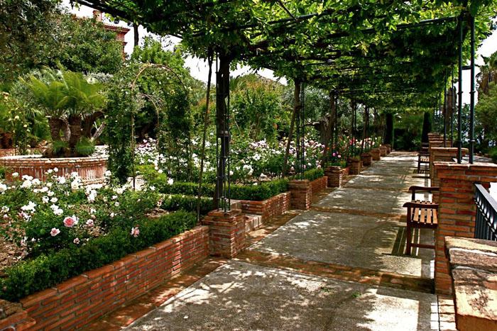 Galer a jardines hispano rabes de manuel garc a for Jardin hispano mauresque