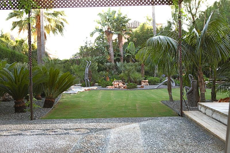 Casa Jazm N Paisajistas Marbella